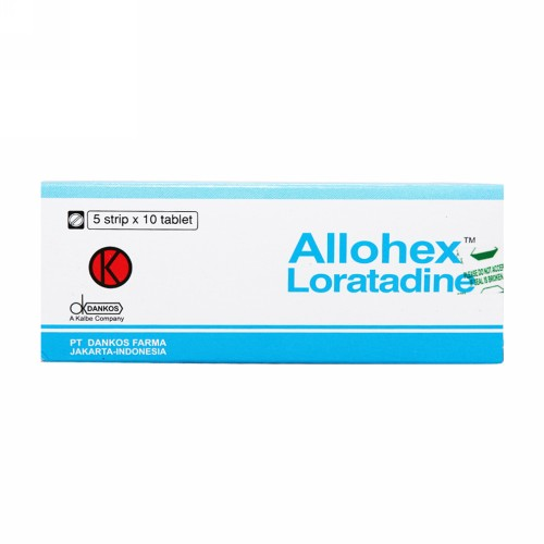 ALLOHEX 10 MG TABLET STRIP