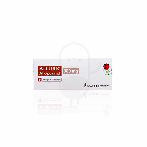 ALLURIC 300 MG TABLET STRIP