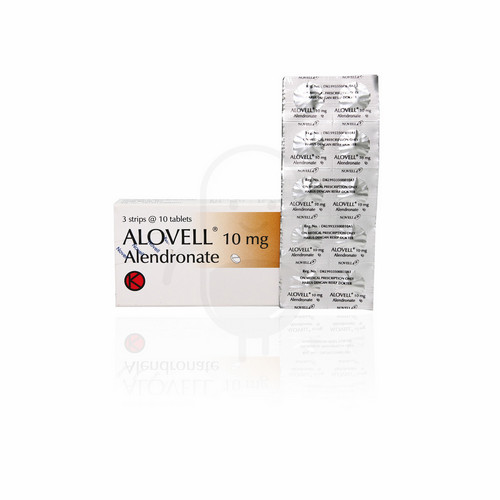 ALOVELL 10 MG TABLET BOX