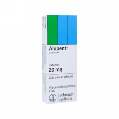 ALUPENT 20 MG TABLET BOX