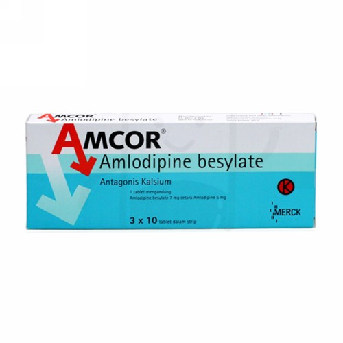AMCOR 5 MG TABLET STRIP