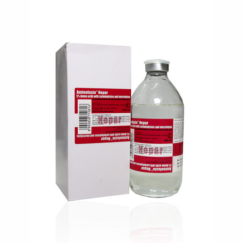 AMINOFUSIN HEPAR 500 ML INFUS