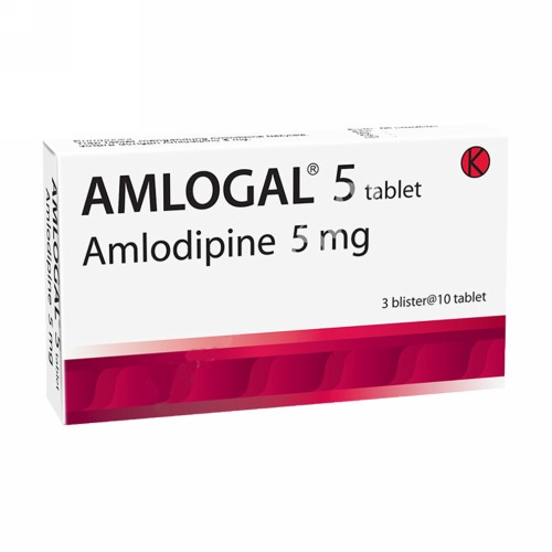 AMLOGAL 5 MG TABLET STRIP