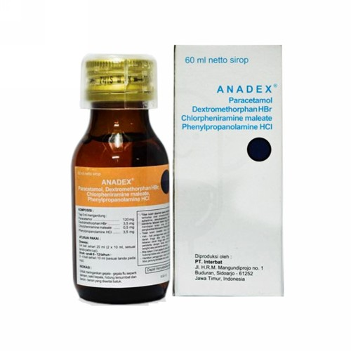 ANADEX 60 ML SYRUP