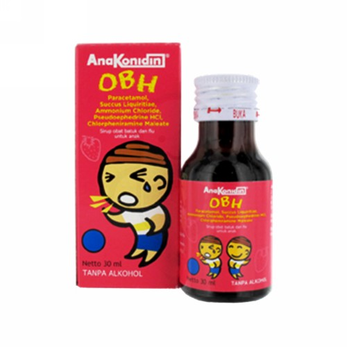 ANAKONIDIN OBH ANAK RASA STRAWBERRY SIRUP 30 ML