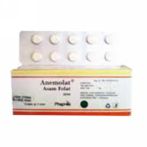 ANEMOLAT 1 MG BOX 100 TABLET