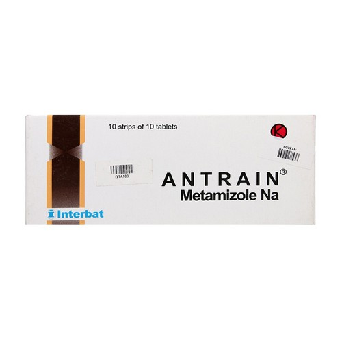 ANTRAIN 500 MG TABLET BOX