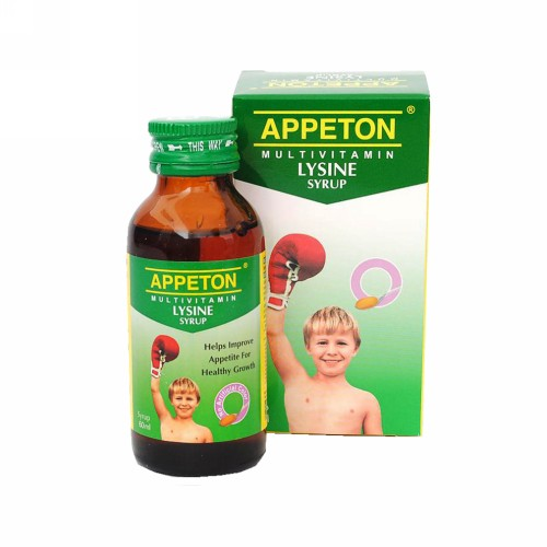 APPETON MULTIVITAMIN LYSINE SIRUP 60 ML