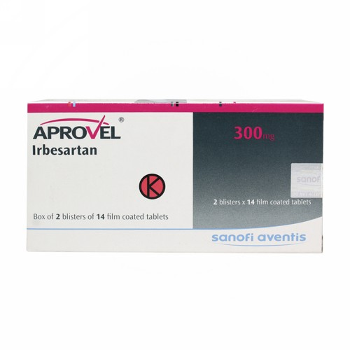 APROVEL 300 MG TABLET BOX