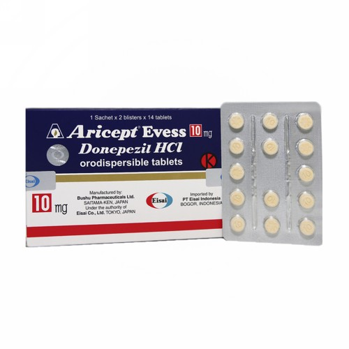 ARICEPT EVESS 10 MG TABLET BOX