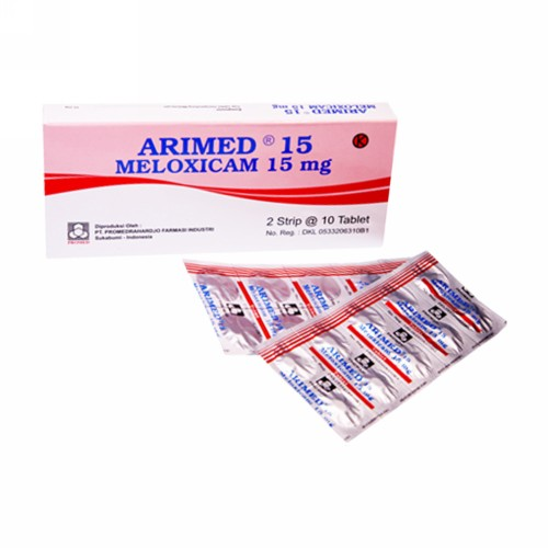 ARIMED 15 MG TABLET BOX