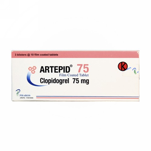 ARTEPID 75 MG TABLET