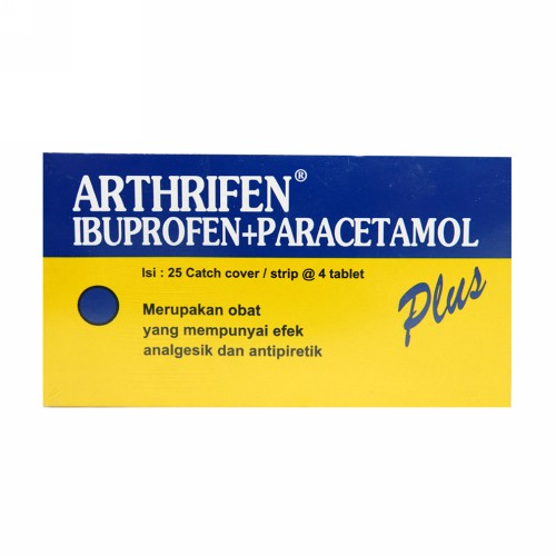 ARTHRIFEN PLUS STRIP 4 TABLET