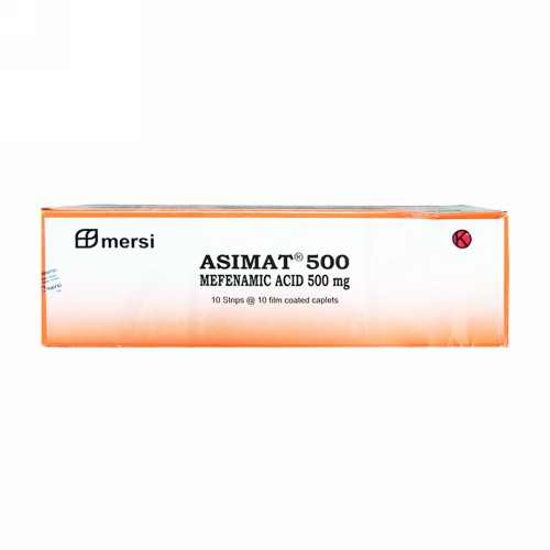 ASIMAT 500 MG TABLET BOX