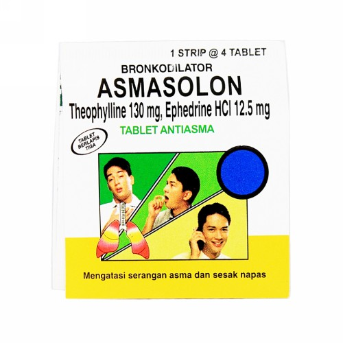 ASMASOLON BOX 100 TABLET