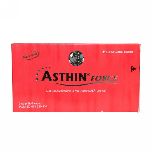 ASTHIN FORCE 4 MG KAPSUL