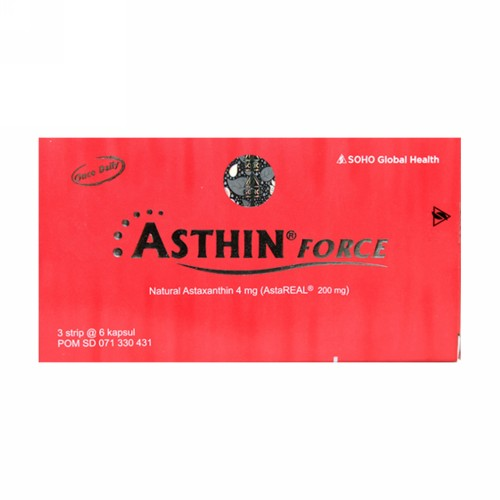 ASTHIN FORCE 4 MG STRIP 6 KAPSUL