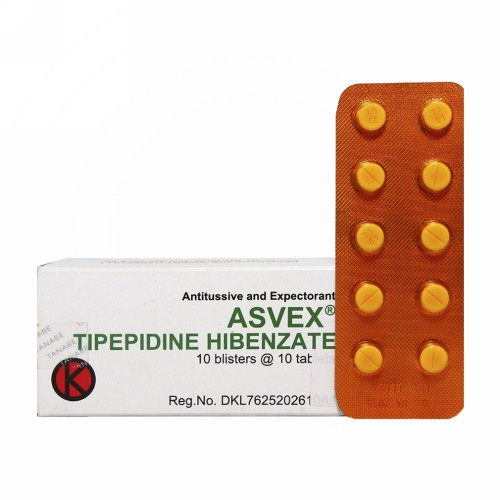 ASVEX 33,21 MG TABLET BOX