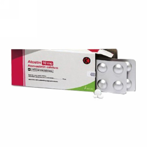 ATOSTIN 10 MG TABLET BOX