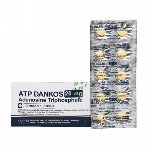 ATP DANKOS 20 MG TABLET STRIP