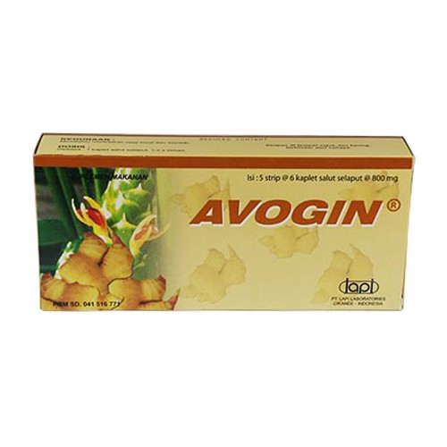 AVOGIN BOX 30 KAPLET