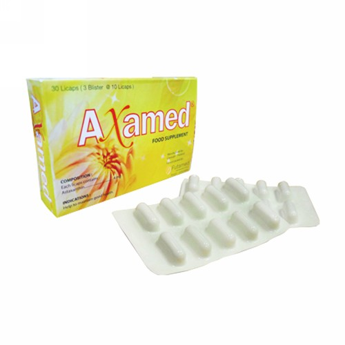 AXAMED PLUS BOX 30 KAPSUL