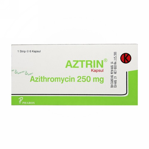 AZTRIN 250 MG KAPSUL BOX