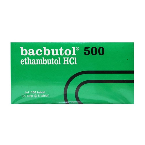 BACBUTOL 500 MG TABLET STRIP