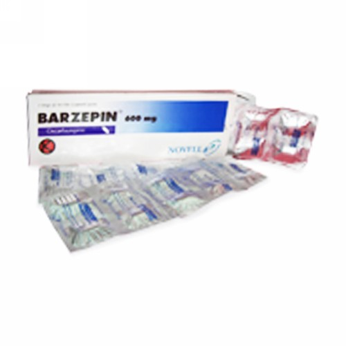 BARZEPIN 600 MG STRIP 10 TABLET