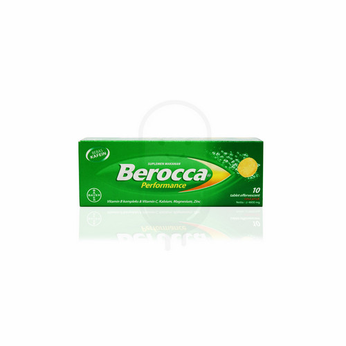 BEROCCA PERFORMANCE PLUS GINGSENG TUBE 10 TABLET