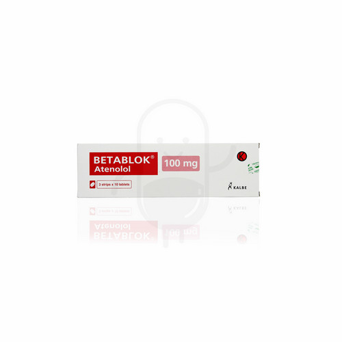 BETABLOK 100 MG TABLET BOX