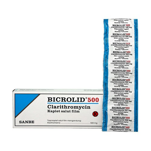 BICROLID 500 MG KAPLET BOX
