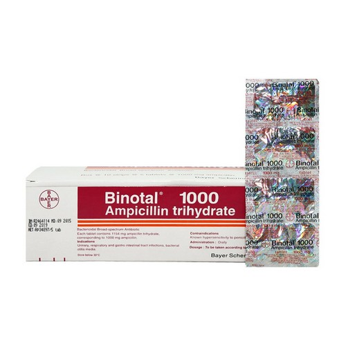 BINOTAL 1000 MG BOX 50 TABLET