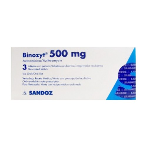 BINOZYT 500 MG TABLET