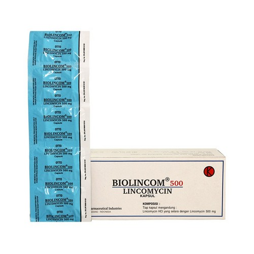 BIOLINCOM 500 MG KAPLET STRIP