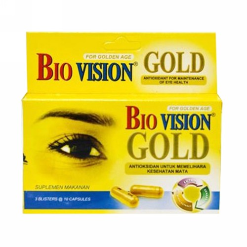 BIOVISION GOLD STRIP 10 KAPSUL