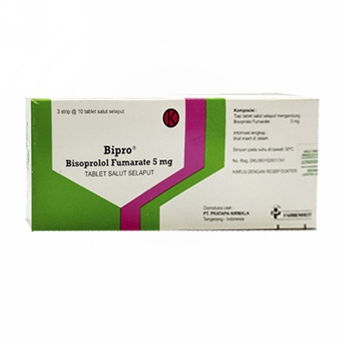 BIPRO 5 MG TABLET BOX