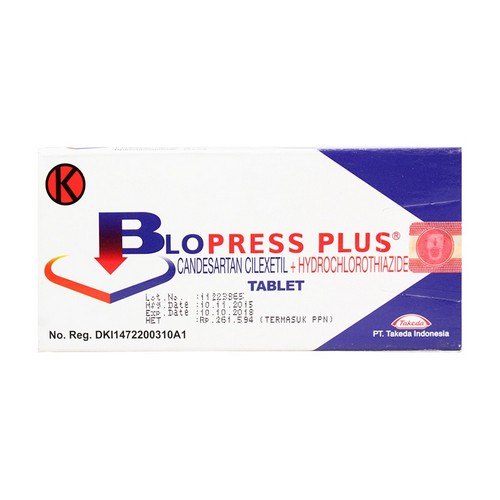 BLOPRESS PLUS TABLET STRIP