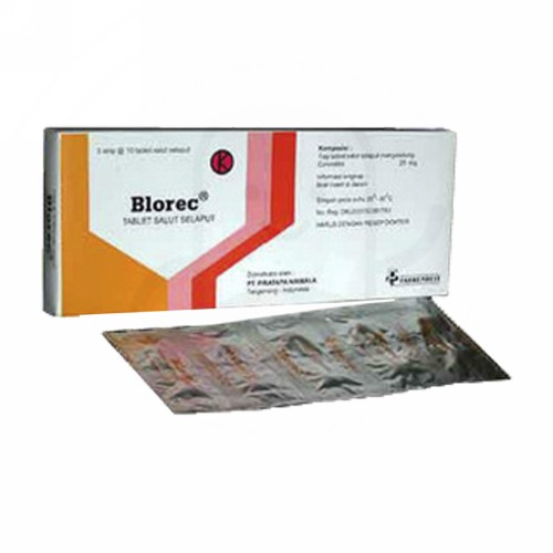 BLOREC 25 MG TABLET
