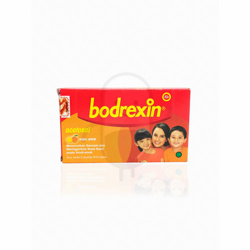 BODREXIN STRIP 10 TABLET
