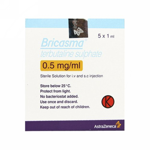 BRICASMA INFUSION 1 ML INJEKSI BOX