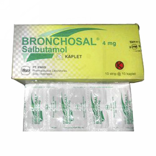 BRONCHOSAL 4 MG KAPLET STRIP