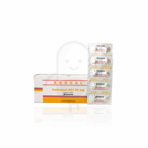 BROXAL 30 MG TABLET STRIP