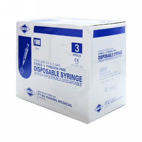 BU KWANG SYRINGE 3 ML BOX