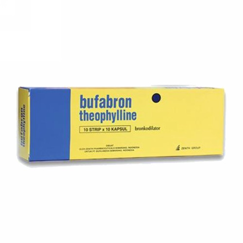 BUFABRON 130 MG STRIP 10 KAPLET