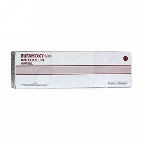 BUFAMOXY 500 MG KAPSUL STRIP