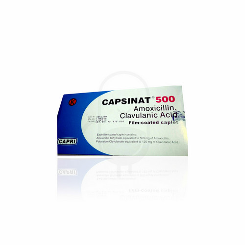 CAPSINAT 500 MG KAPLET STRIP