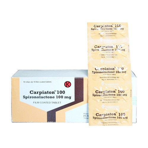 CARPIATON 100 MG STRIP 10 TABLET