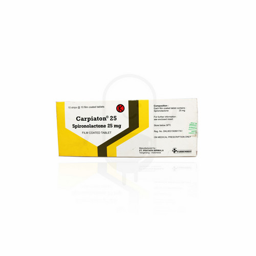 CARPIATON 25 MG BOX 100 TABLET