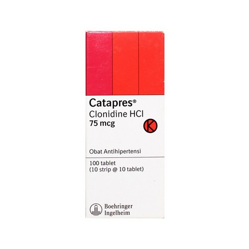CATAPRES 75 MCG TABLET